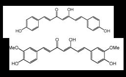 Molécules de curcuminoïdes