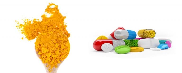 Curcumine vs médicaments