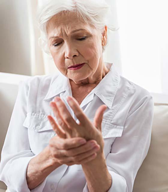 Arthrite de la main