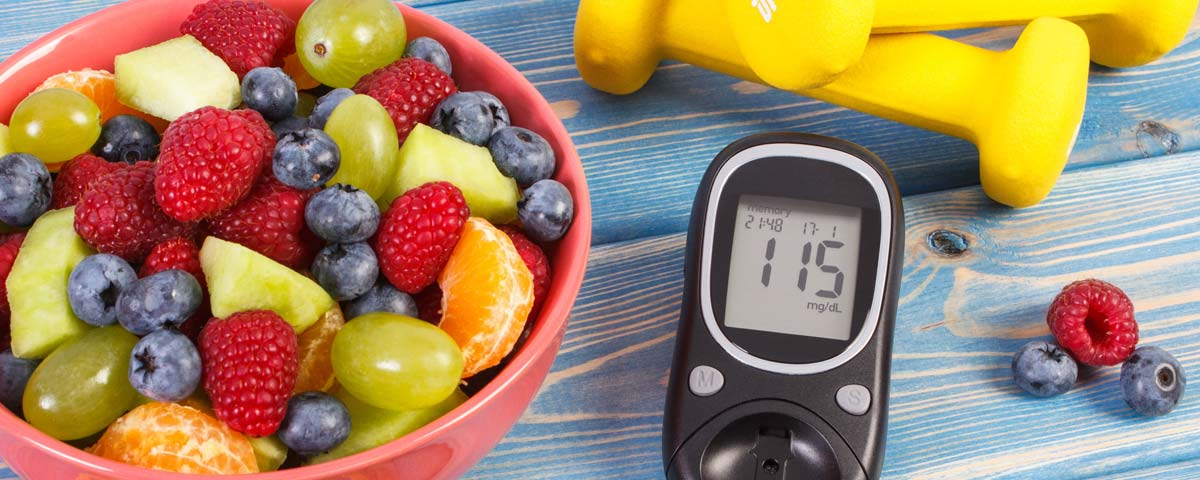 Fruits plus appareil de mesure