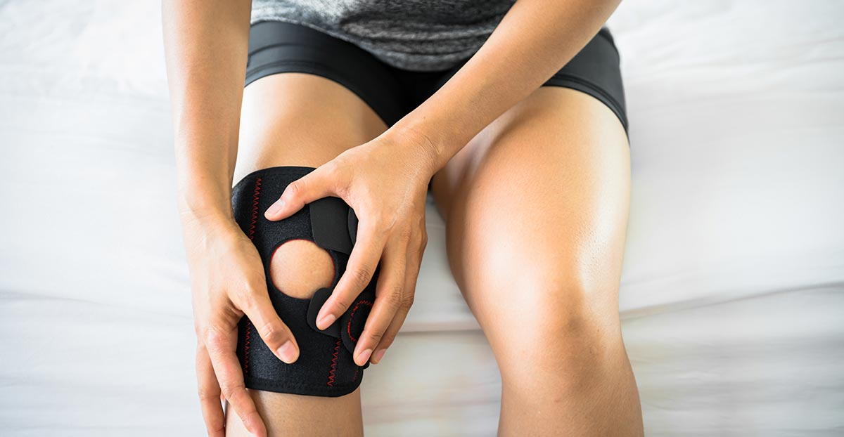 Arthrite genou femme