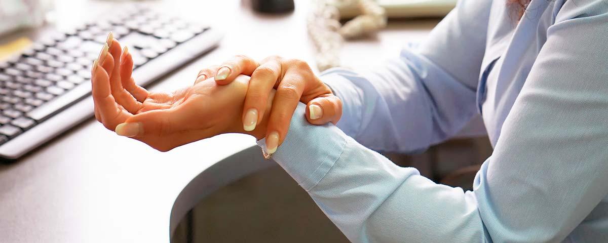 Douleurs aux poignets